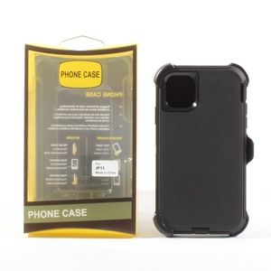 iPhone 11 Hybrid Defender Case Cover Black NEW